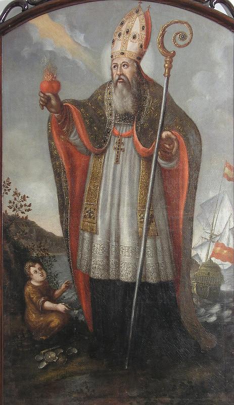 Stredoeurópsky maliar zo začiatku 18. storočia – Sv. Augustín