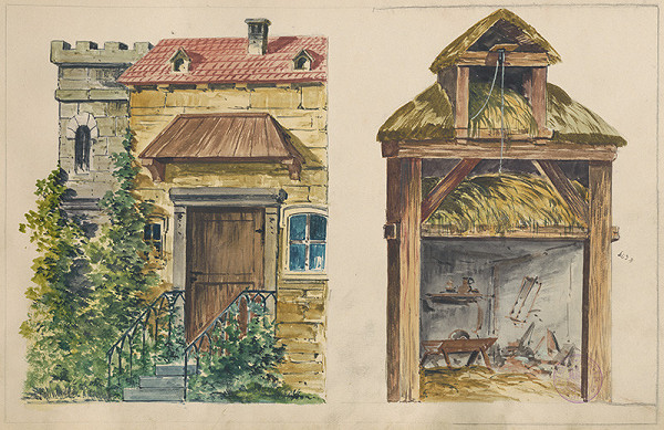 Gustáv Wintersteiner - Detailné návrhy na scénu
