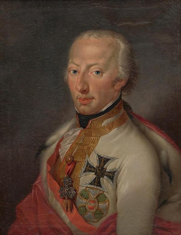 Jeracini - Portrét arcikniežaťa Antona Viktora Jozefa Raymunda ako veľmajstra Rádu nemeckých rytierov