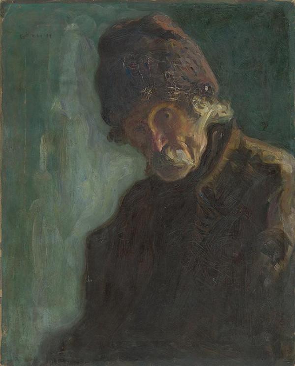 Móritz Góth – Portrét starca