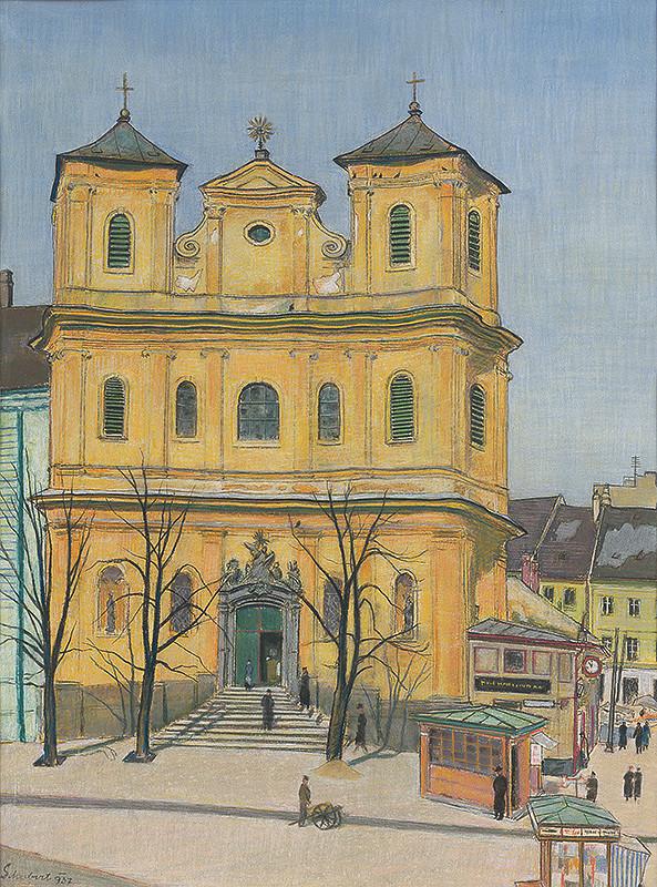 Július Schubert – Kostol sv.Trojice v Bratislave