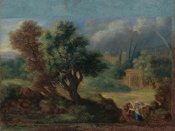 Carl Marko – Talianska krajina s dúhou