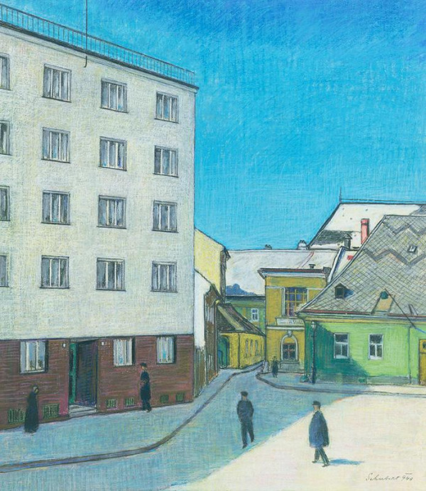 Július Schubert – Veterná ulica v Bratislave