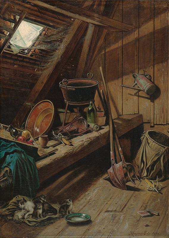 Eduard Majsch – Povalové zátišie