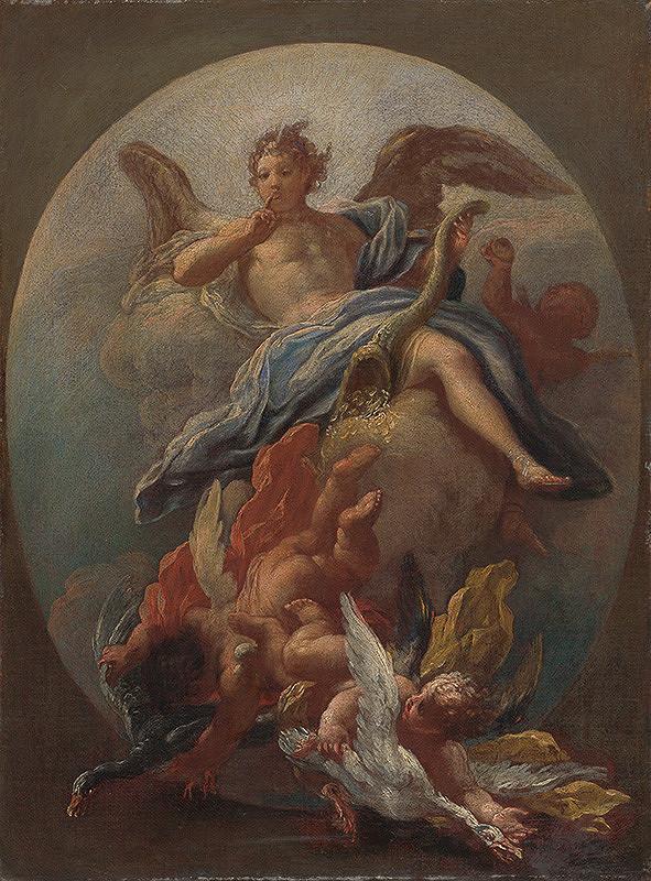 Giacomo del Pó – Alegória mlčanlivosti