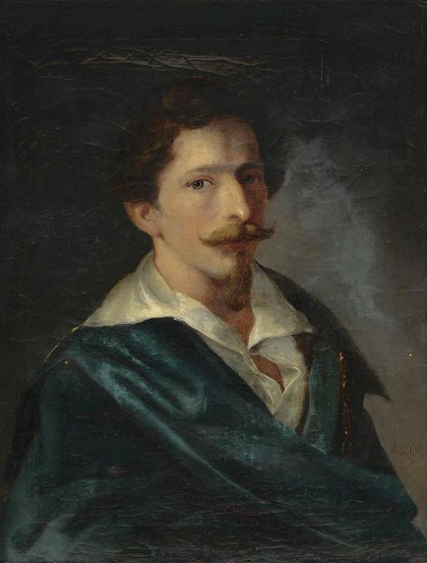Ferdinand Karl Theodor Lütgendorff – Portrét kaligrafa Ferdinanda Schmidta