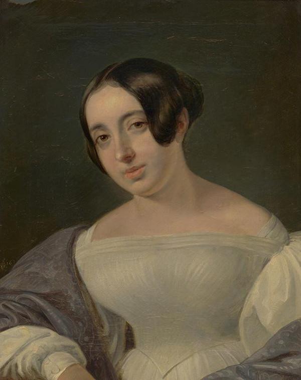 Ferdinand Karl Theodor Lütgendorff – Portrét Márie Schmidtovej