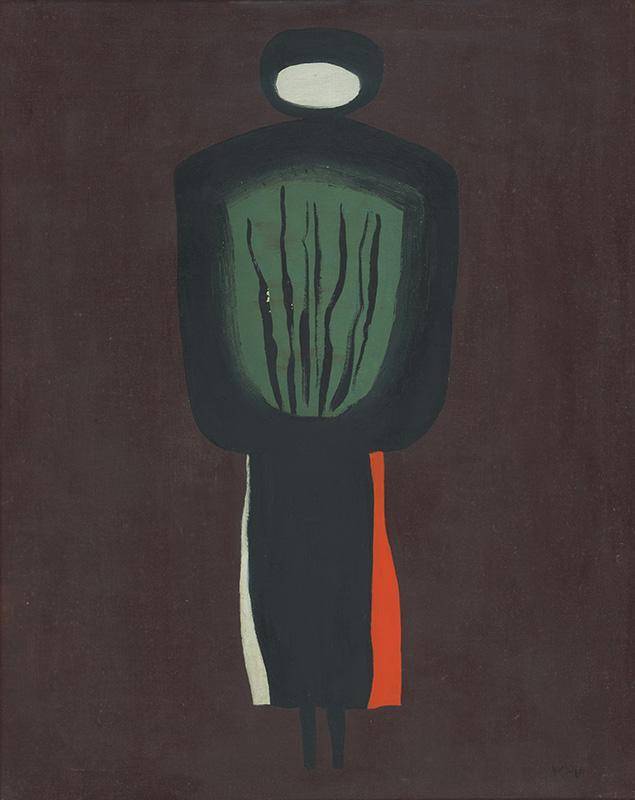 Viera Kraicová – Na spálenisku, 1964, Galéria mesta Bratislavy