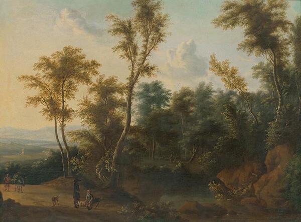 Holandský maliar z 2. polovice 17. storočia - Krajina