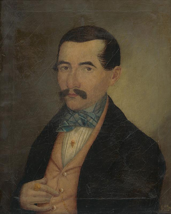 Eustachius Klimo – Portrét muža s fúzami