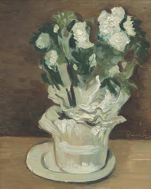 Mikuláš Galanda – Biele kvety