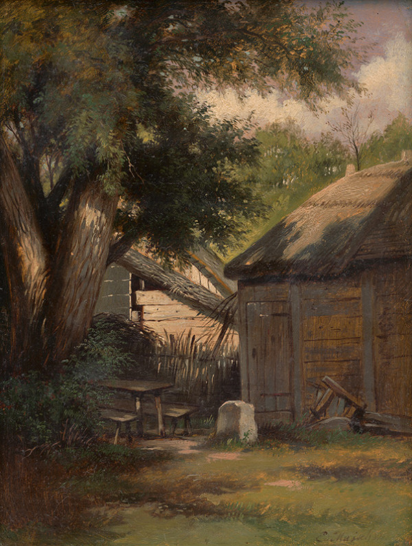 Eduard Majsch - Na dedinskom dvore