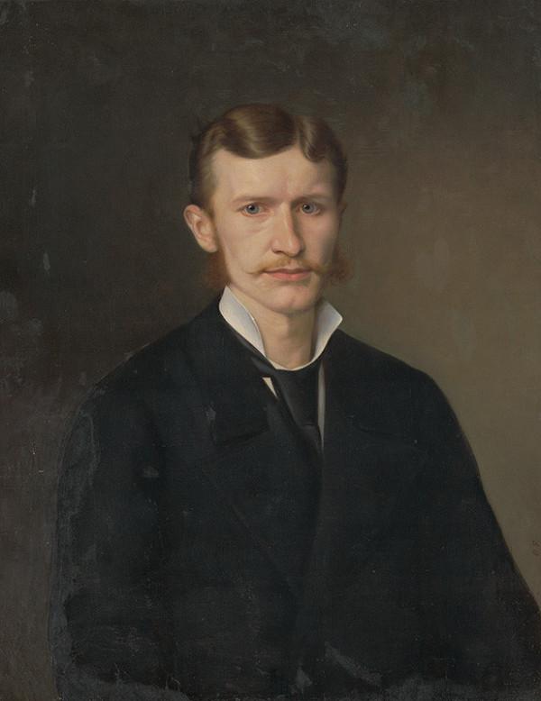 Juraj Fleischmann - Portrét mladého muža