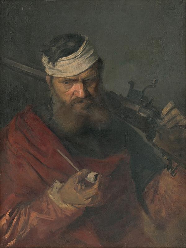 Gyula Benczúr – Štúdia povstalca