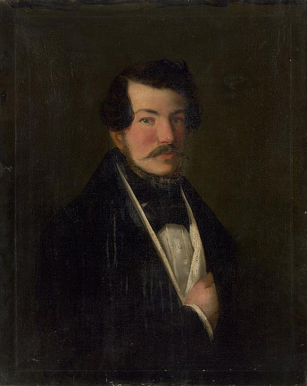 Eustachius Klimo, Stredoeurópsky autor z konca 2. polovice 19. storočia – Portrét muža