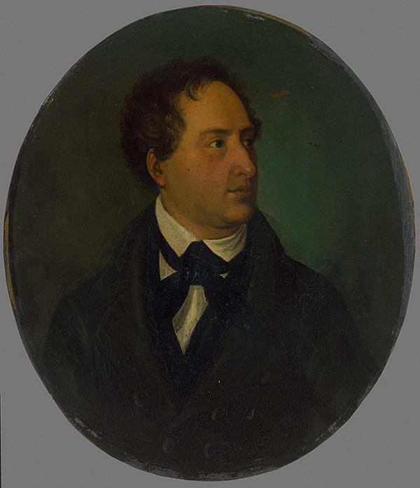 Stredoeurópsky autor z 1. polovice 19. storočia - Portrét muža