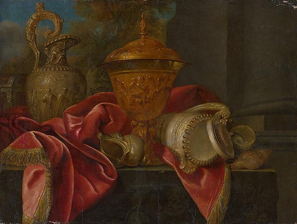 Stredoeurópsky maliar z konca 18. storočia - Zátišie s krčahom a pokálom