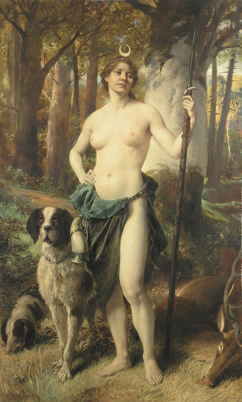 Ferdinand Wagner ml. – Diana na love