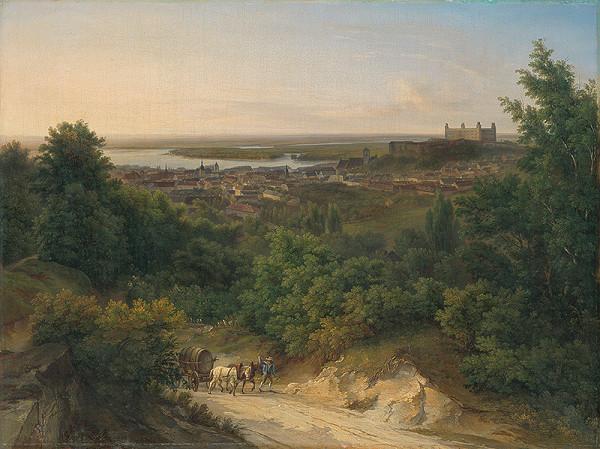 Ján Ranzmayr – Pohľad na Bratislavu