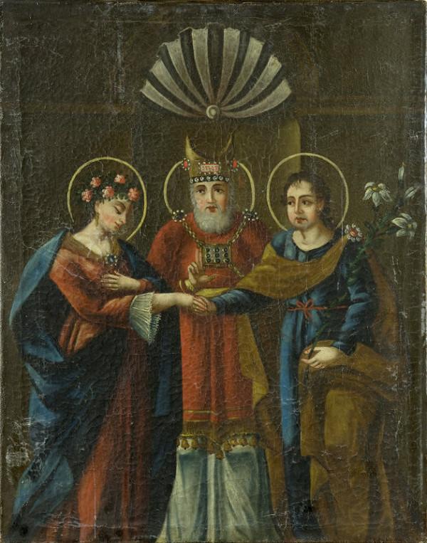 Stredoeurópsky autor zo začiatku 19. storočia – Zasnúbenie Panny Márie