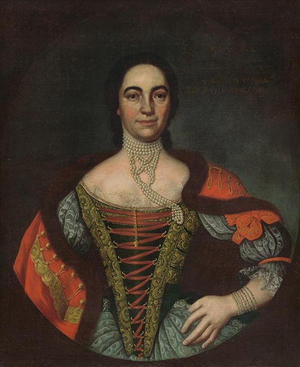 Slovenský maliar z 18. storočia - Sophia Rakovszká