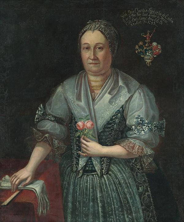 Slovenský maliar z 18. storočia – Podobizeň Charitas Szeleczkej