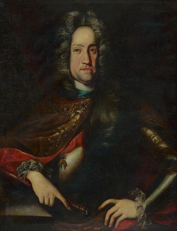 Stredoeurópsky maliar zo začiatku 18. storočia - Portrét cisára Karola VI.