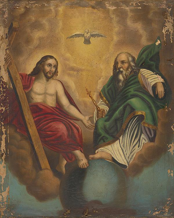 Stredoeurópsky autor z 19. storočia - Svätá Trojica