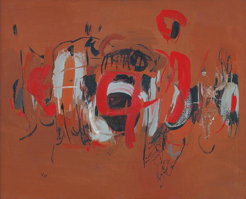 Viera Kraicová – Príchod, 1967, Galéria mesta Bratislavy