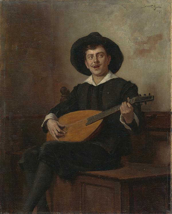 Július Štetka – Muž s mandolínou