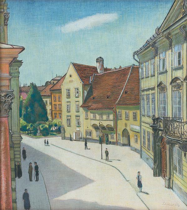 Július Schubert – Bratislava - Mirbachov palác