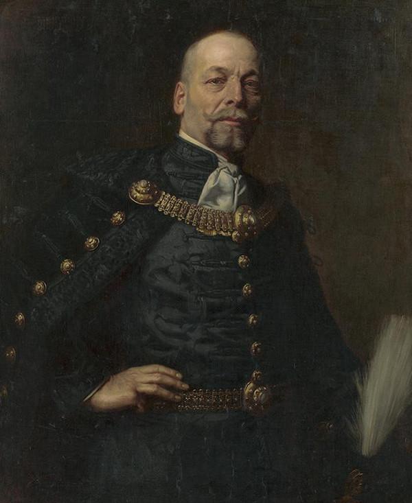 Július Štetka – Portrét uhorského hodnostára