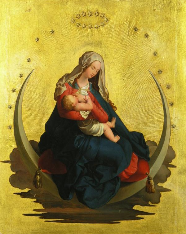 Franz H. Enderle, Albrecht Dürer - Panna Mária ako kráľovná nebies