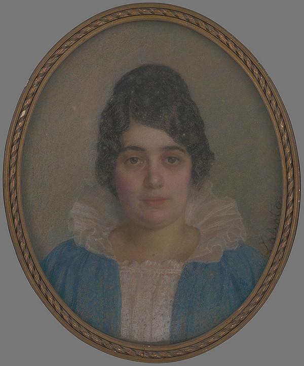 Ivan Žabota – Portrét mladej ženy