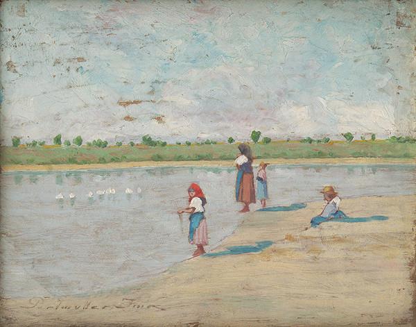 Imre Perlmutter – Ženy pri rybníku
