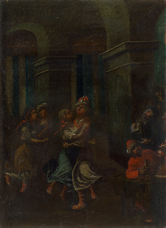 Stredoeurópsky maliar z 18. storočia – Márnotratný syn - prehýrenie majetku
