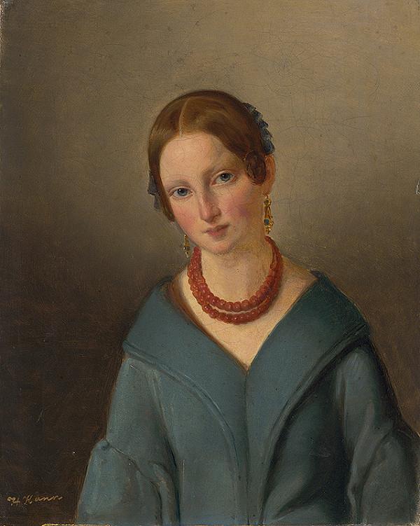 Henrik Kann – Portrét mladej dámy