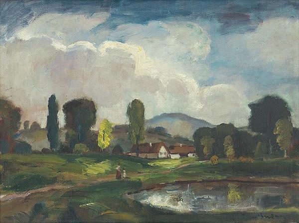 Béla Iványi-Grünwald - Pri jazere