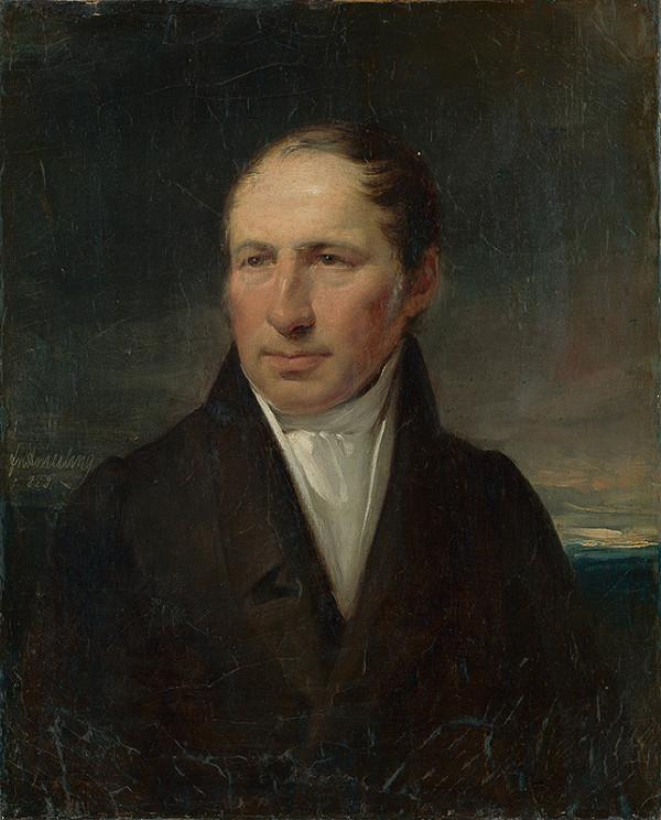 Friedrich von Amerling - Portrét muža