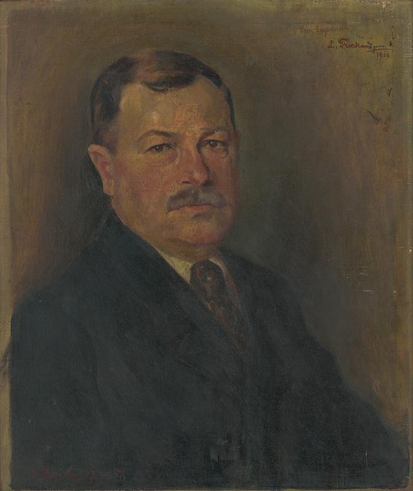 Ladislav Treskoň - Portrét dr. Jozefa Minárika