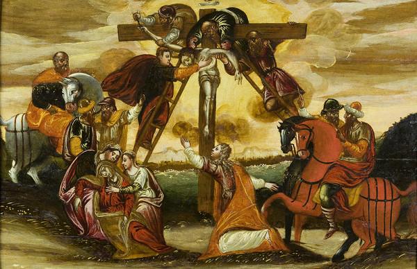 Stredoeurópsky maliar zo začiatku 18. storočia - Snímanie z kríža