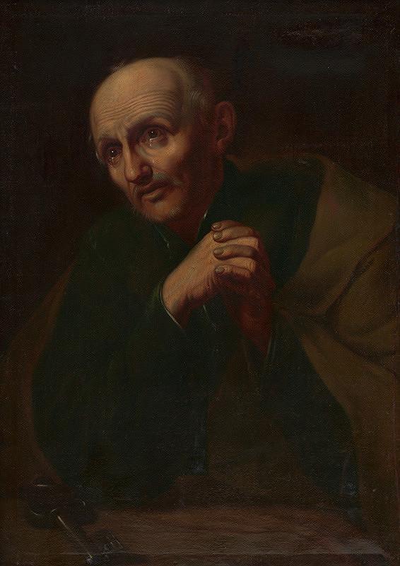 Stredoeurópsky maliar okolo polovice 18. storočia - Modliaci sa starec