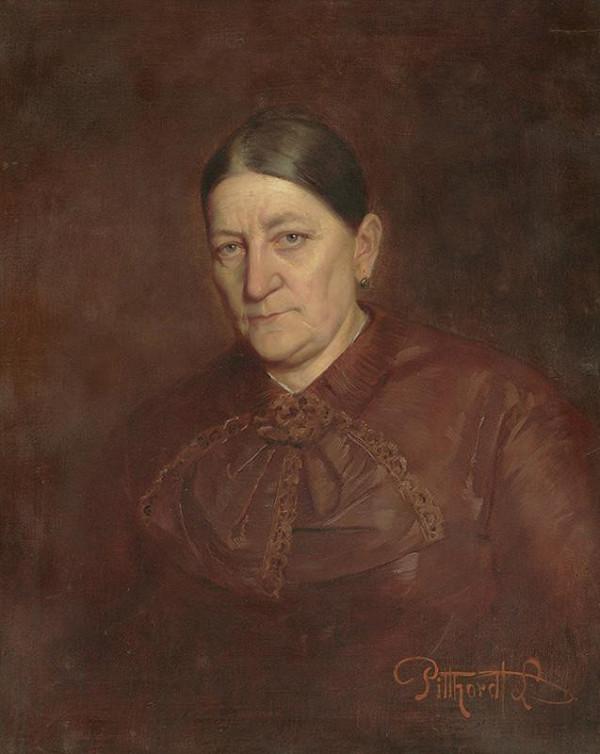 Ľudovít Pitthordt - Portrét umelcovej matky