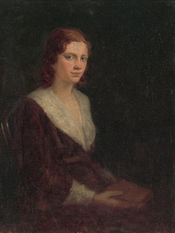 Ľudovít Pitthordt - Portrét umelcovej dcéry