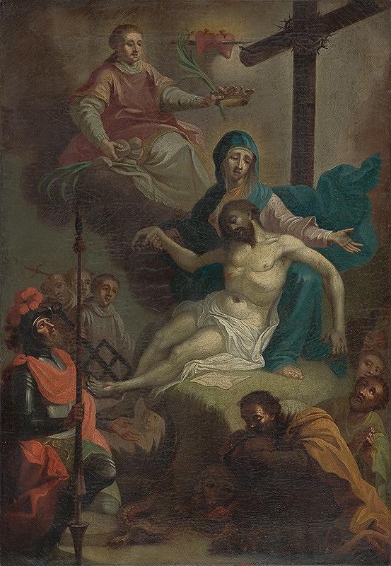 Stredoeurópsky maliar z 18. storočia, Joseph Sebastian Klauber – Panna Mária - Kráľovná mučeníkov