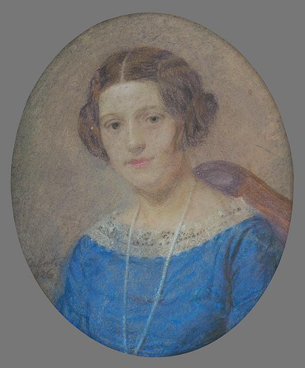 Ivan Žabota – Portrét pani Ležovičovej
