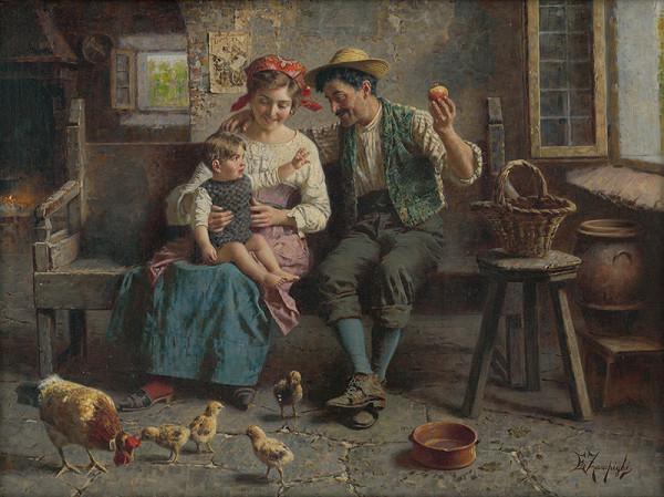 Eugenio Zampighi - Rodinná idyla