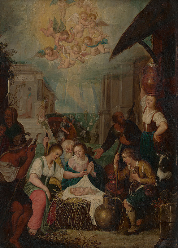 Flámsky maliar - Narodenie Krista