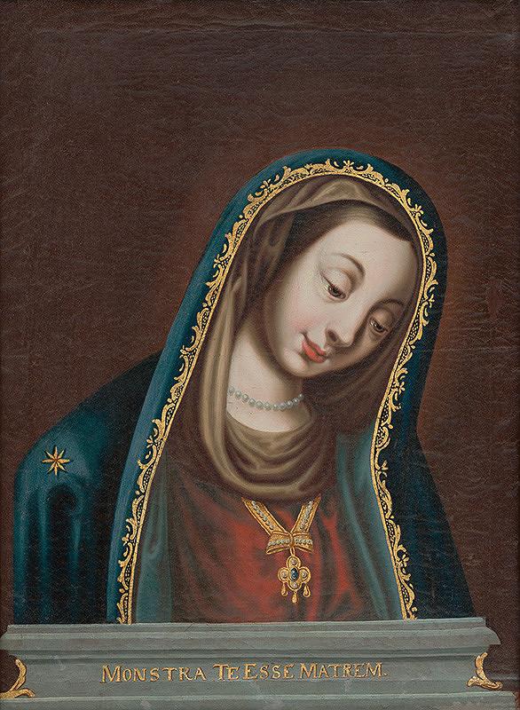 Nemecký maliar – Kópia obrazu Panny Márie so sklonenou hlavou z Landshutu