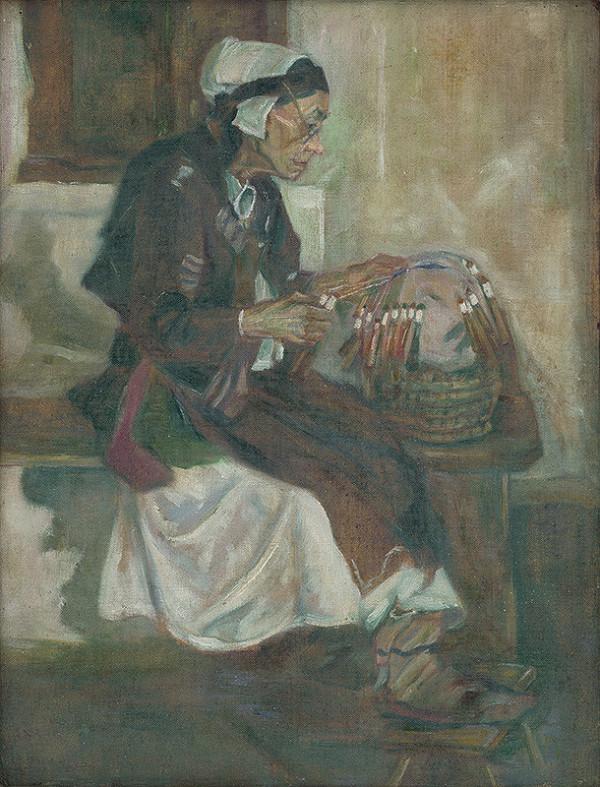 Emil Pacovský - Čipkárka